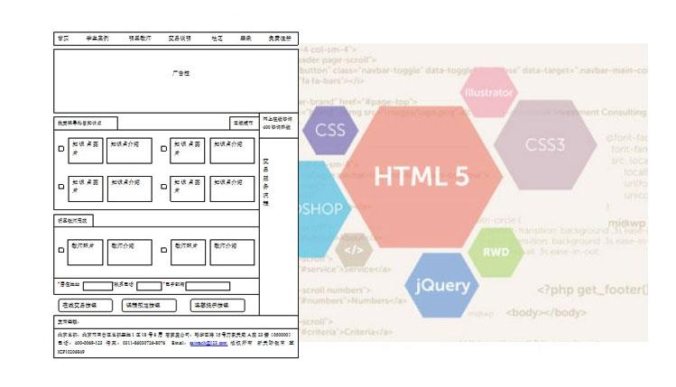 网站制作过程常见的程序语言介绍